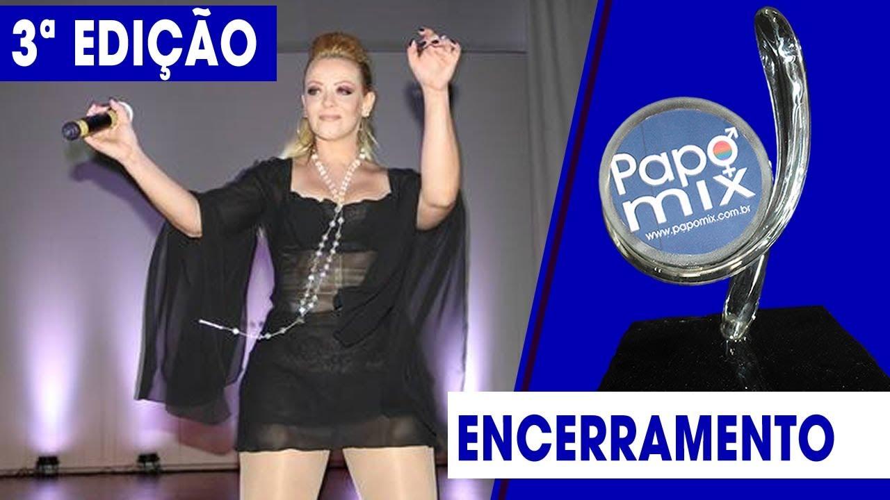 Photo of Cantora Joe Welch realiza performance na  3ª edição do Prêmio PapoMix da Diversidade