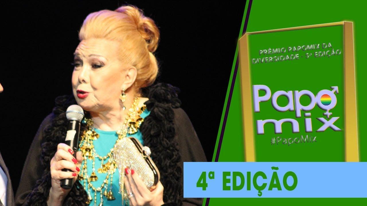 Photo of 5ª edição do Prêmio PapoMix homenageia ícone LGBT Rogéria
