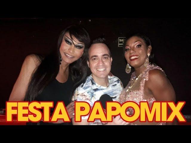 Photo of Divas Transex, Claudia Edson e Valeria Monteira no especial do PapoMix