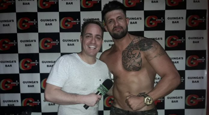 Photo of Performance especial do stripper Adriano Martelli no Guingas Bar