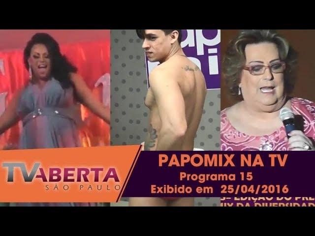 Photo of PAPOMIX NA TV – Programa 24  – Exibido em  25/04/2016