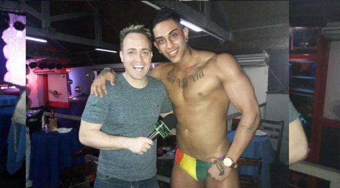 Photo of Stripper do gogoboy Bruno Fiit no especial de aniversário de Artur Zanetty