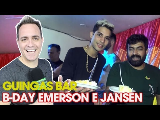 Photo of GUINGAS BAR | B-day e EMERSON PAPOMIX E JANSEN GUINGAS