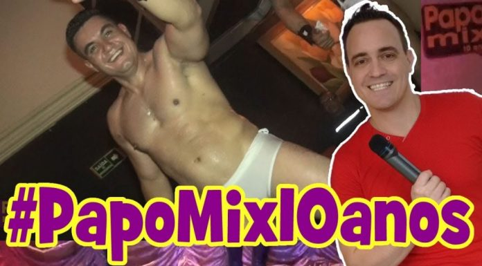 Photo of #TBTPapoMix | Stripper Total de Yuri Gaúcho no especial de 10 anos do PapoMix