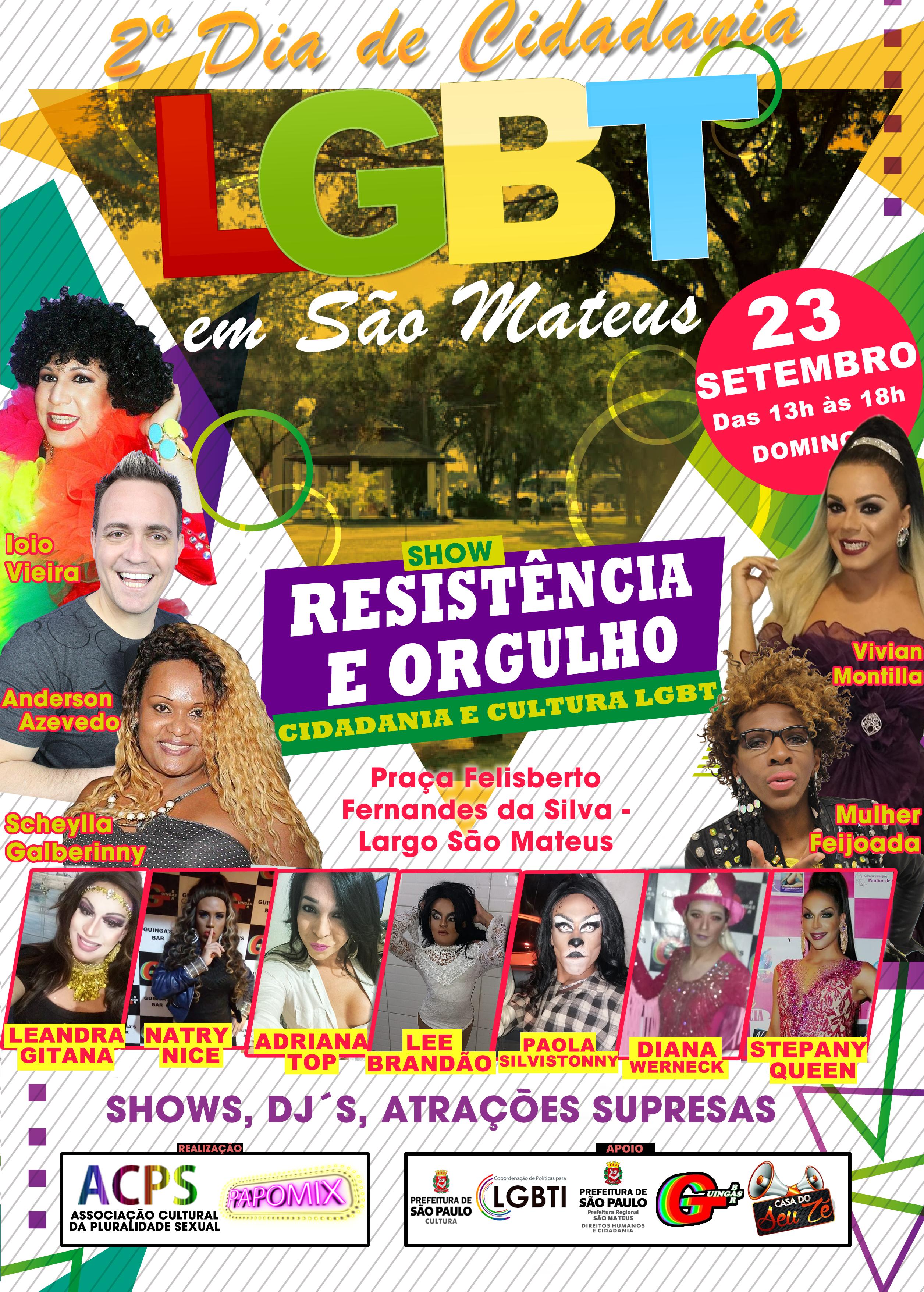 Photo of ACPS/PAPOMIX realiza 2º Dia de Cidadania LGBT em São Mateus – Confira os destaques: