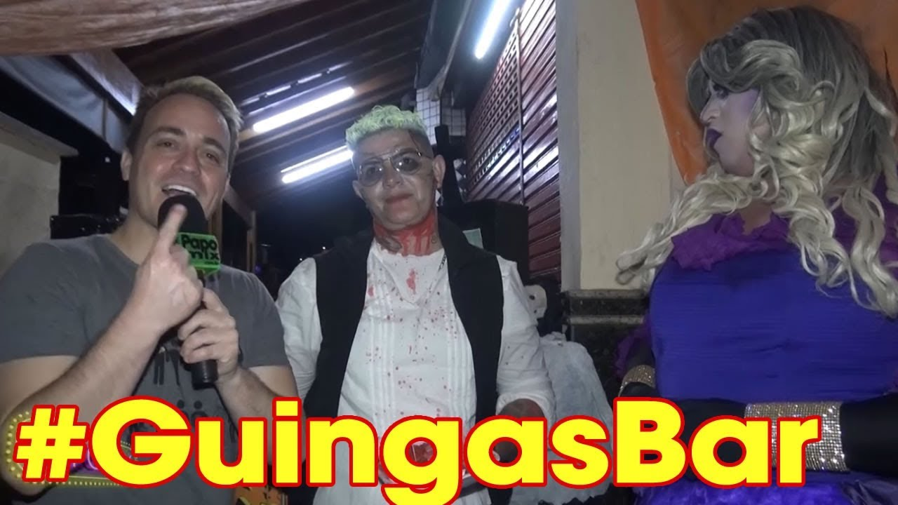 Photo of PapoMix confere os bastidores do Halloween do Guingas Bar