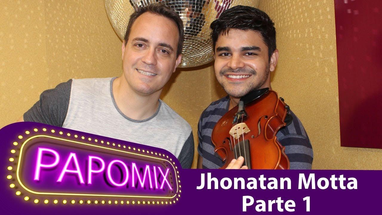 Photo of Todo talento do cantor, ator e musico Jhonatan Motta no PapoMix especial