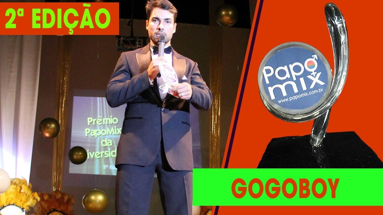 Photo of Bruno Camargo recebe Prêmio PapoMix na categoria Gogoboy