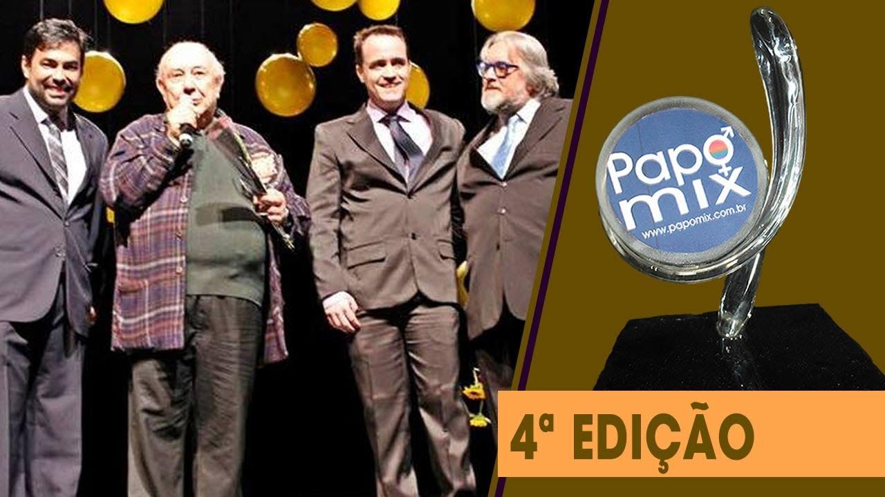 Photo of Ator Sérgio Mamberti recebe homenagem especial durante 4ª edição do Prêmio PapoMix