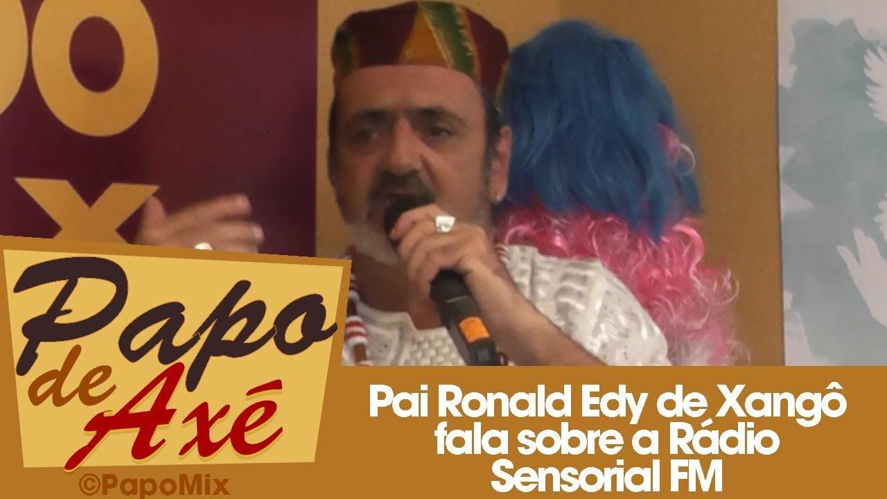 """Photo of Pai Ronald Edy de Xangô fala sobre a Rádio Sensorial FM no projeto """"Águas de São Paulo"""""""
