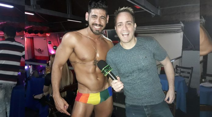 Photo of VRAU: Stripper Felipe Leão em performance ousada