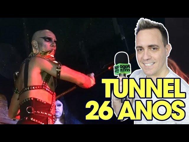 Photo of Danny Cowlt em performance especial nos 26 anos da casa noturna Tunnel