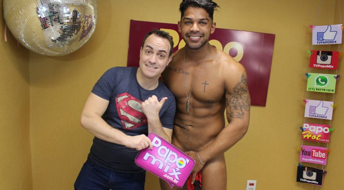 Photo of #Momentos2018:  Da cor do pecado, Stripper Allan Gonçalves em entrevista especial no PapoMix