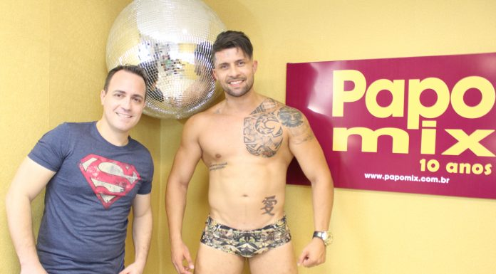 Photo of MOMENTOS 2018: Gogoboy Adriano Martelli em stripper ousado no PapoMix