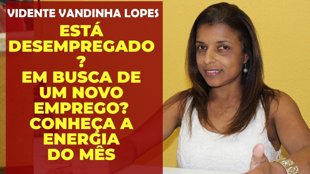 Photo of Vidente Vandinha Lopes em uma mensagem especial para quem está a procura de um emprego