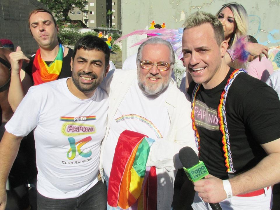 Photo of DJ Feeling, Leão Lobo e Club Rainbow na Parada LGBTI+ de São Paulo