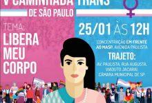 Photo of Caminhada abre a semana em comemoração ao dia de visibilidade Trans em São Paulo